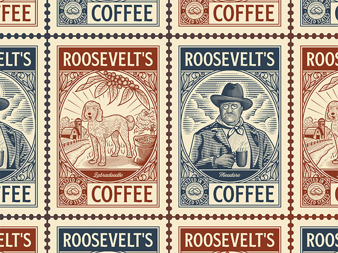 Roosevelt's Coffee by Peter Voth