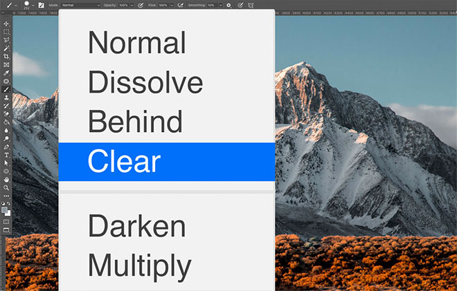 Where to Find Two Extra Blending Modes Hidden in Photoshop!
