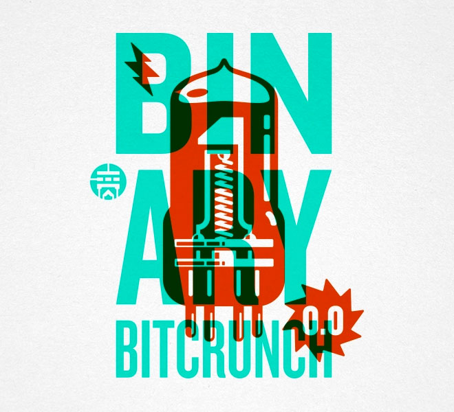 Binary Bitcrunch by Steve Bullock