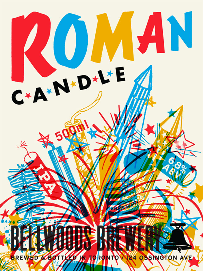 Bellwoods Brewery Roman Candle by Doublenaut