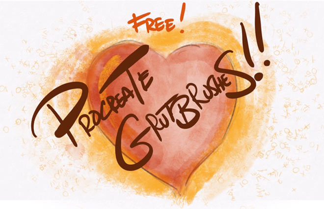 Free Procreate Brushes by Grut Brushes (FREE)