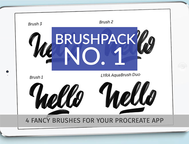 Procreate Brush Pack by Pixel Surplus (FREE)
