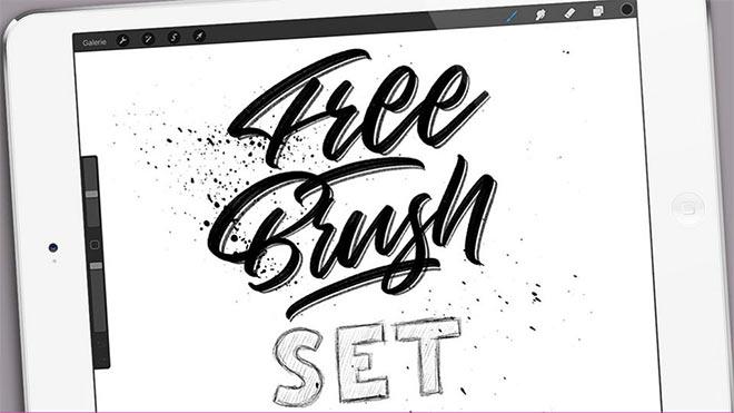 Free Procreate Brush Set by Fabian Fischer (FREE)