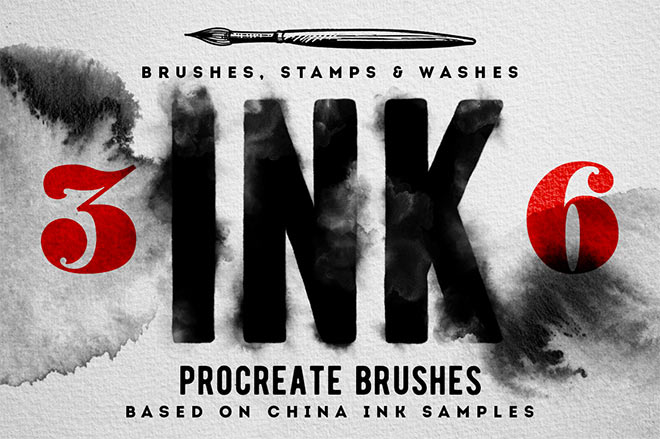 Procreate Ink Brushes by MiksKS ($10)