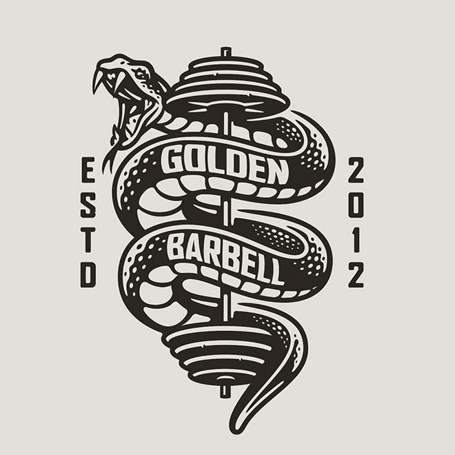 Golden Barbell by Mighty Short