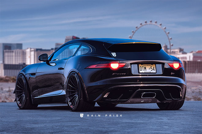 F-Type Shooting Brake by Rain Prisk