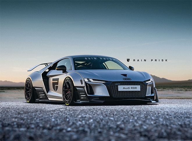 Audi R8 by Rain Prisk