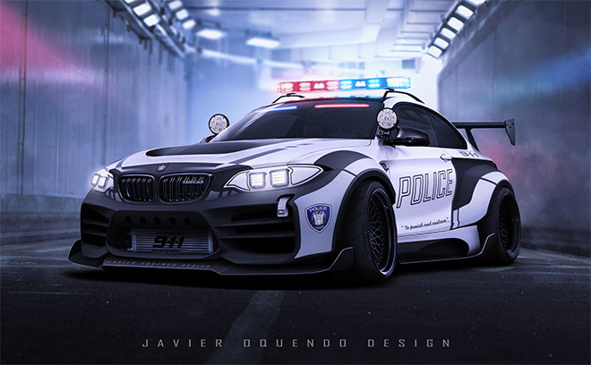 BMW M2 Barricade by Javier Oquendo