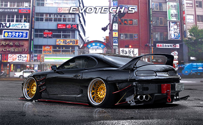 Toyota Supra Hoonigan Drift Missile by Evotech 5