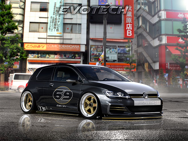 Time Attack Golf Mk7 by Evotech 5