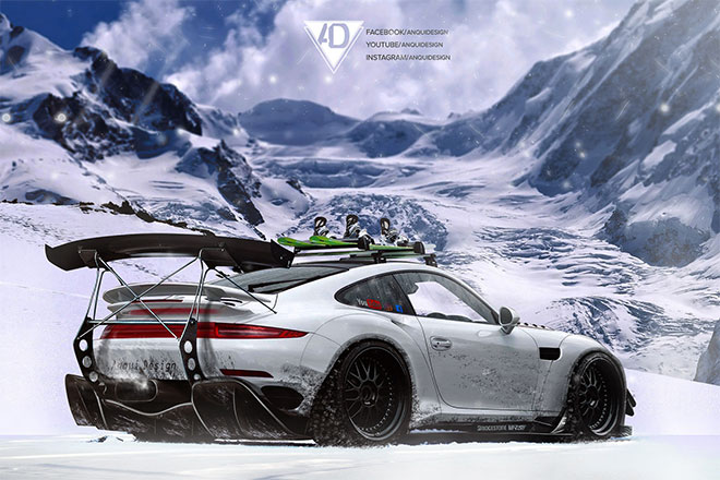 Porsche 991 Virtual Tuning by Toni Kostov