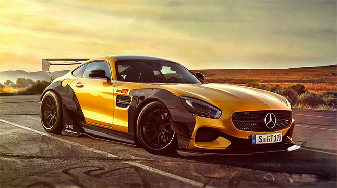 Mercedes AMG GT Virtual Tuning by Toni Kostov
