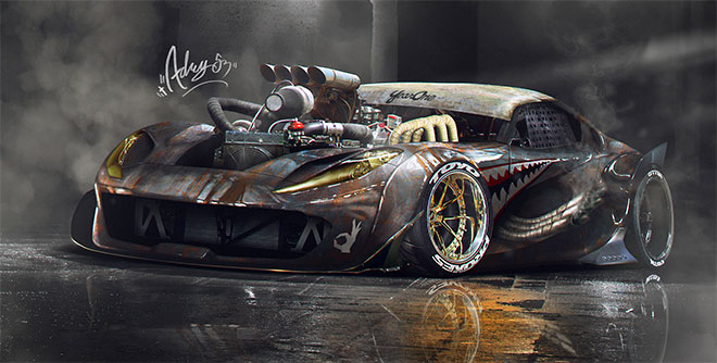 Rat 812 Superfast by Timothy Adry