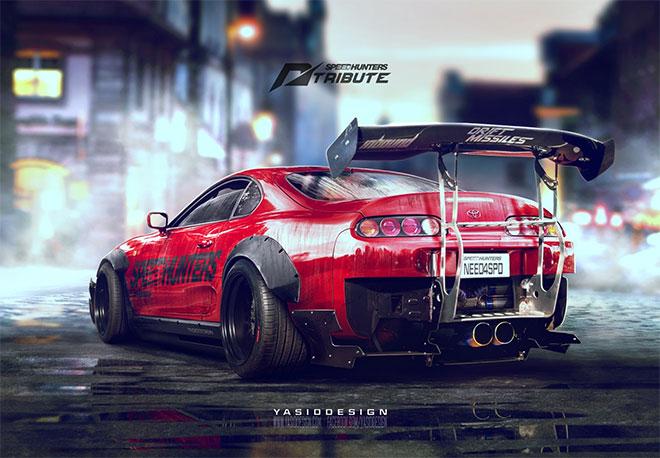 Speedhunters Toyota Supra by Al Yasid Oozeear