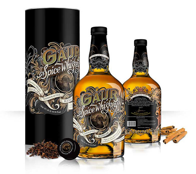 Gaur Spice Whiskey by Orion Champadiyil