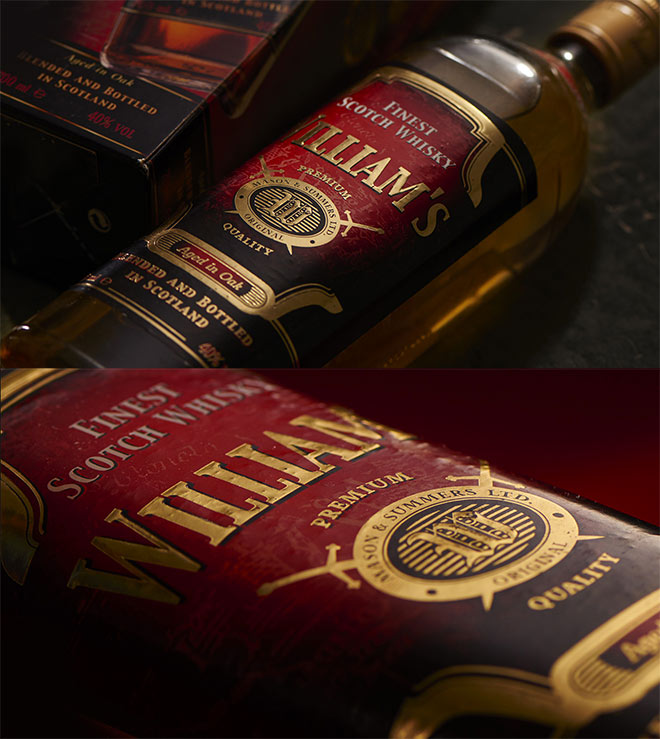 Williams Whisky by Studio IKAR
