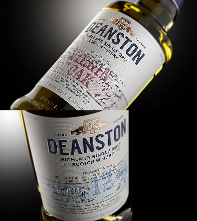 Deanston Highland Single Malt Scotch Whisky by Good