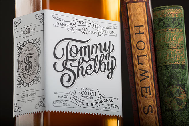 Tommy Shelby Whiskey by Scott Biersack