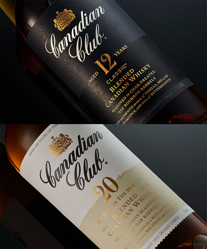 Canadian Club Whisky by Co