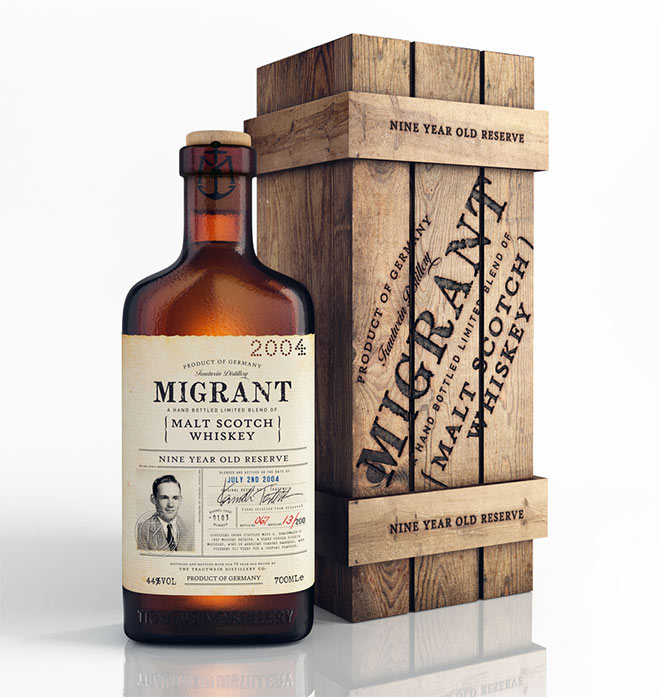 Migrant Whiskey by Chad Michael Studio