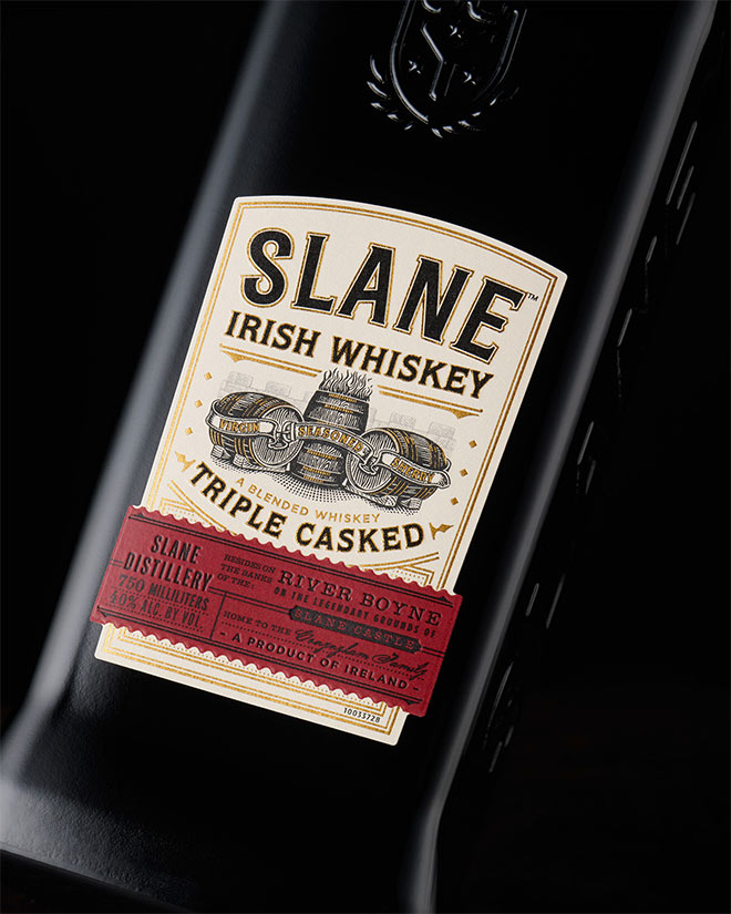 Slane Irish Whiskey by Chad Michael Studio