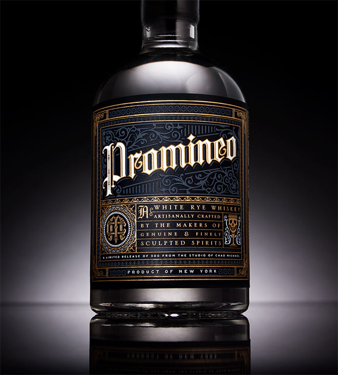 Promineo Whiskey by Chad Michael Studio