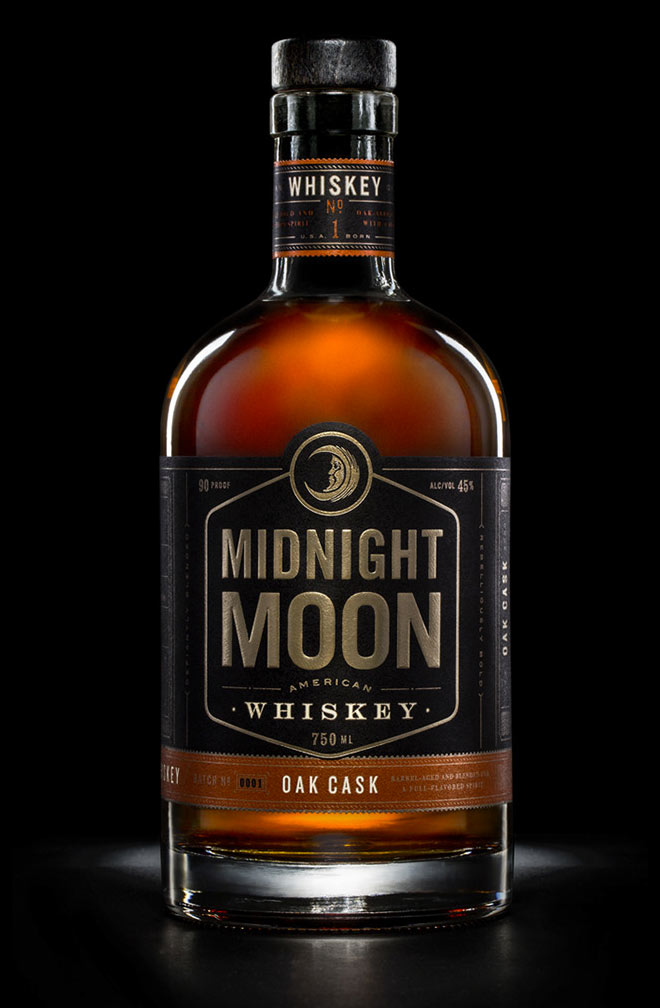 Midnight Moon Whiskey by Device Creative Collaborative