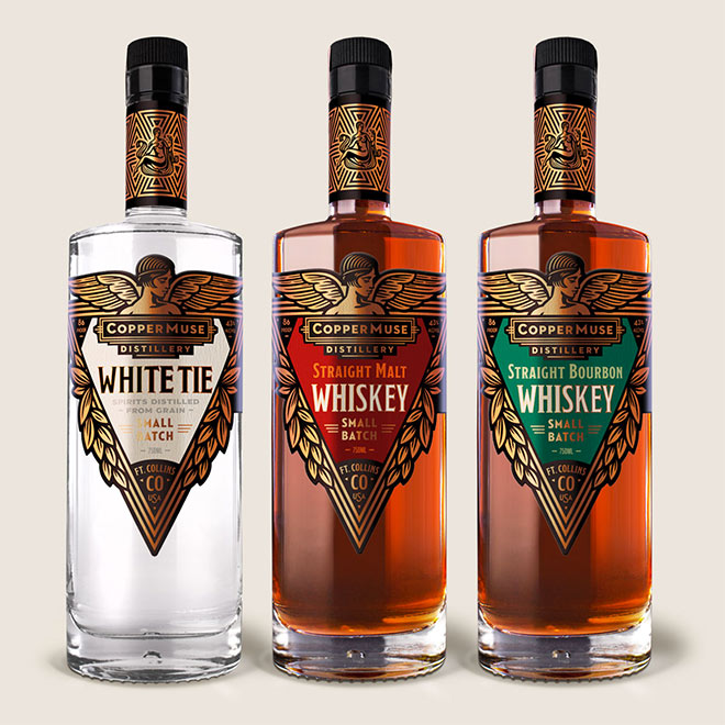 CopperMuse Whiskey by Emrich Office