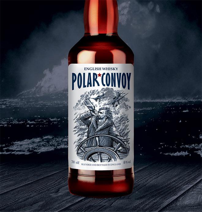 Polar Convoy by Vadim Briksin