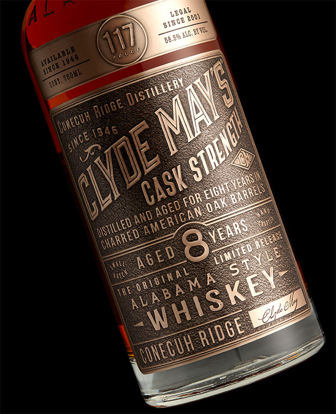 Clyde May's Cask Strength by Stranger & Stranger