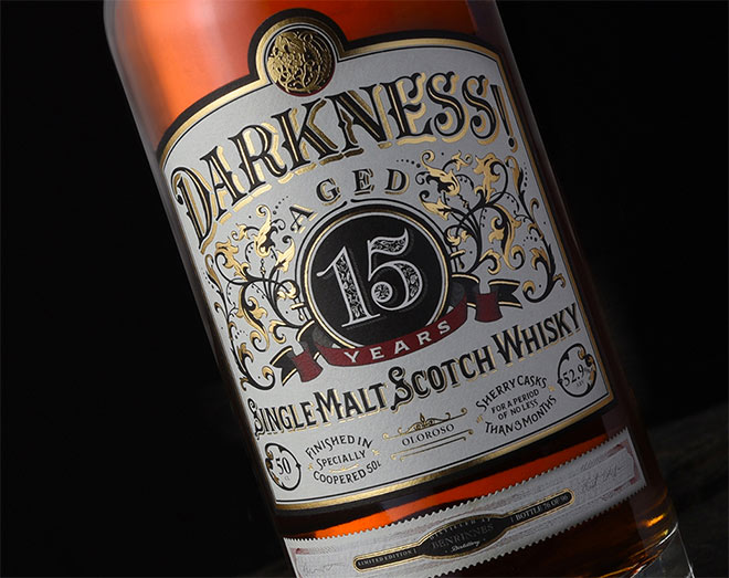 Darkness Whisky by Tom Lane