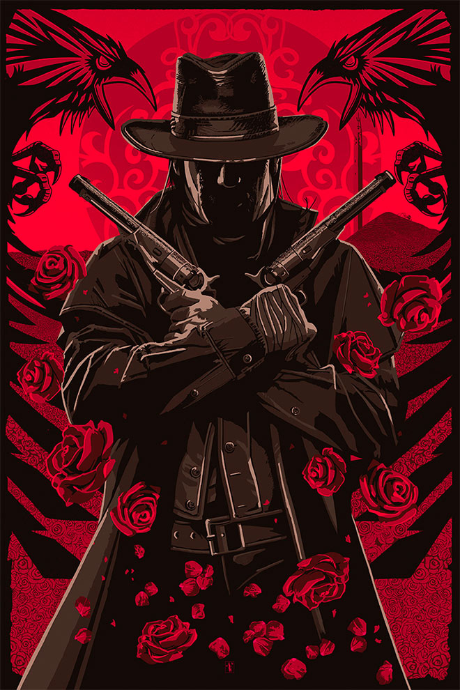 The Red Fields of None by The Dark Inker