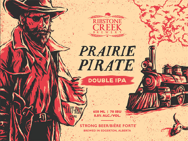 Prairie Pirate IPA by Grant Burke