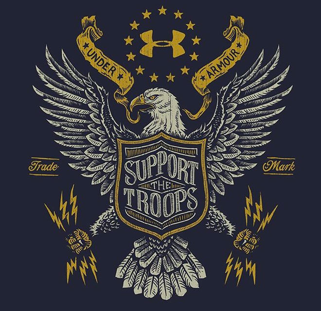 Support The Troops by Strawcastle