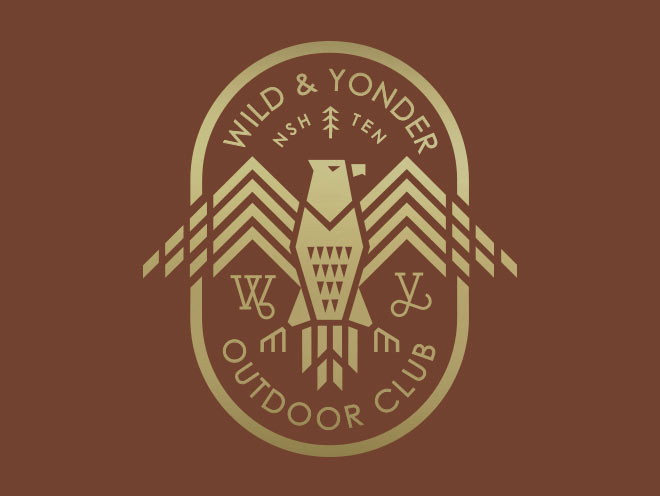 Wild & Yonder Badge by Brian Bobel