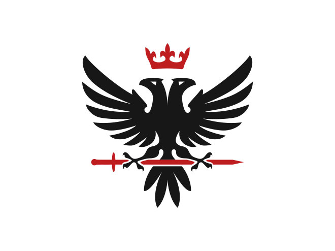 Eagle Heraldic Logo by Mersad Comaga