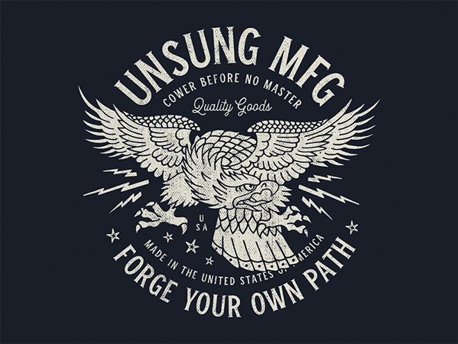 Eagle Tee by Andy Boice