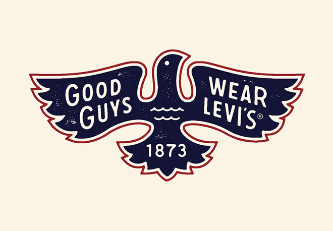Good Guys Wear Levi's by Dan Cassaro