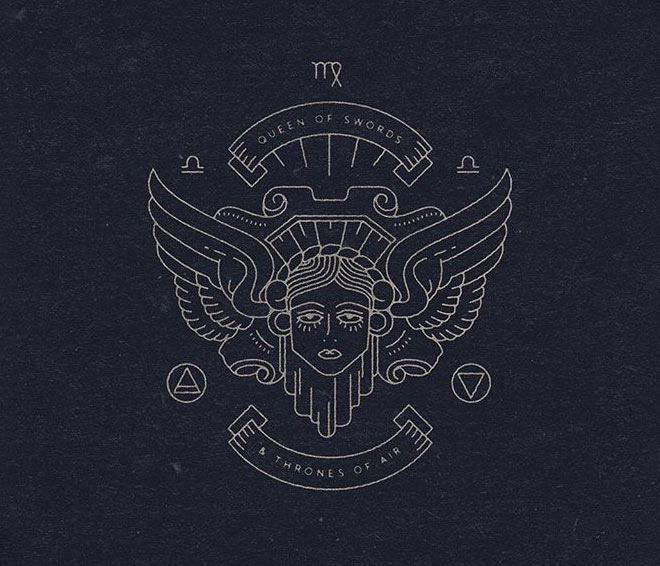 Hermetic Tarot Symbols by Onemandivision