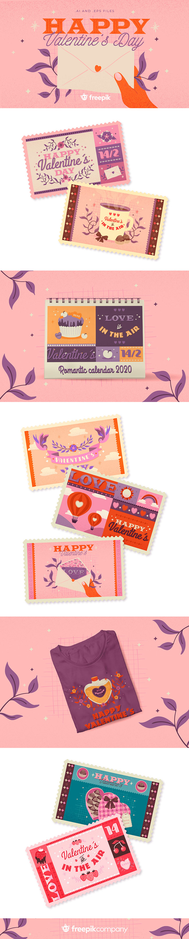 10 designs for Valentine's Day for access to all member areas