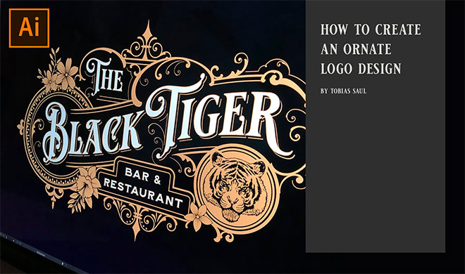 How to create an ornate logo design