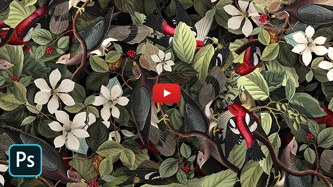 Video Tutorial: How To Create Detailed Graphic Patterns in Photoshop