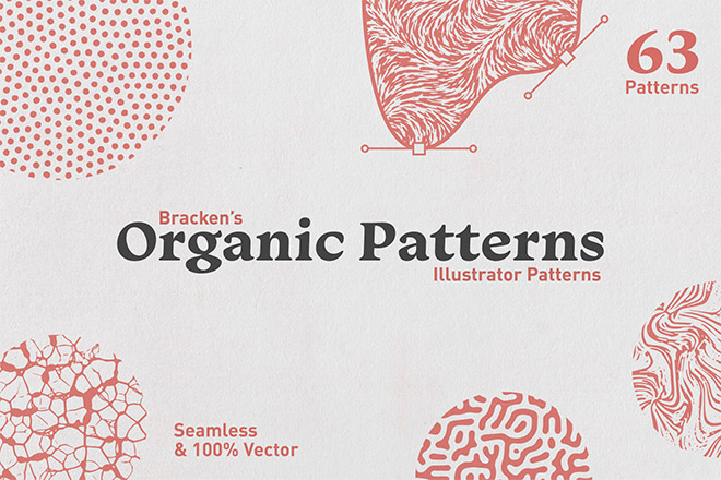 Organic Patterns – For Illustrator