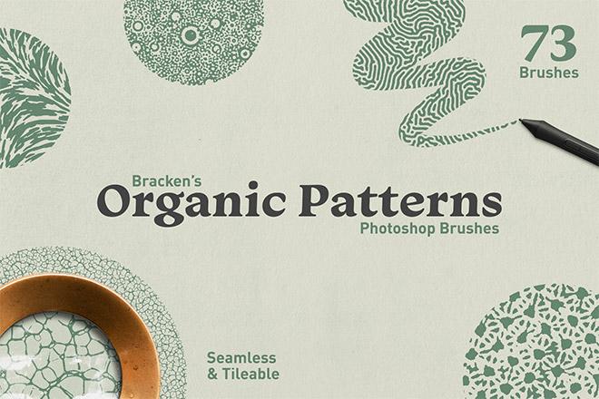 Organic Patterns – Photoshop Brushes