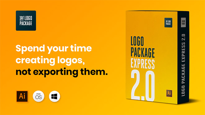 Logo Package Express