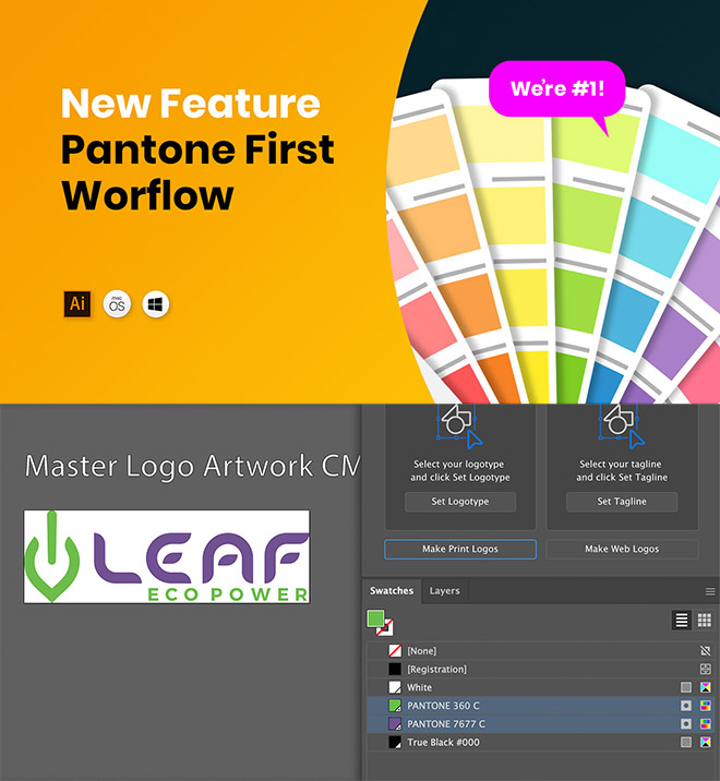 pantone - Create All the Logo Files Your Client Needs in Under 5 Minutes
