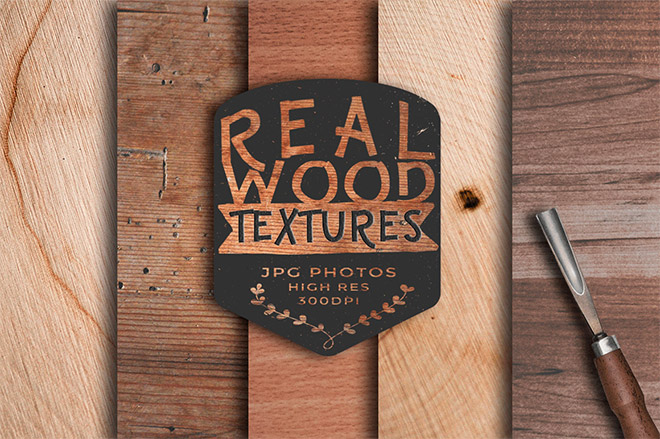 Real Wood Texture Backgrounds