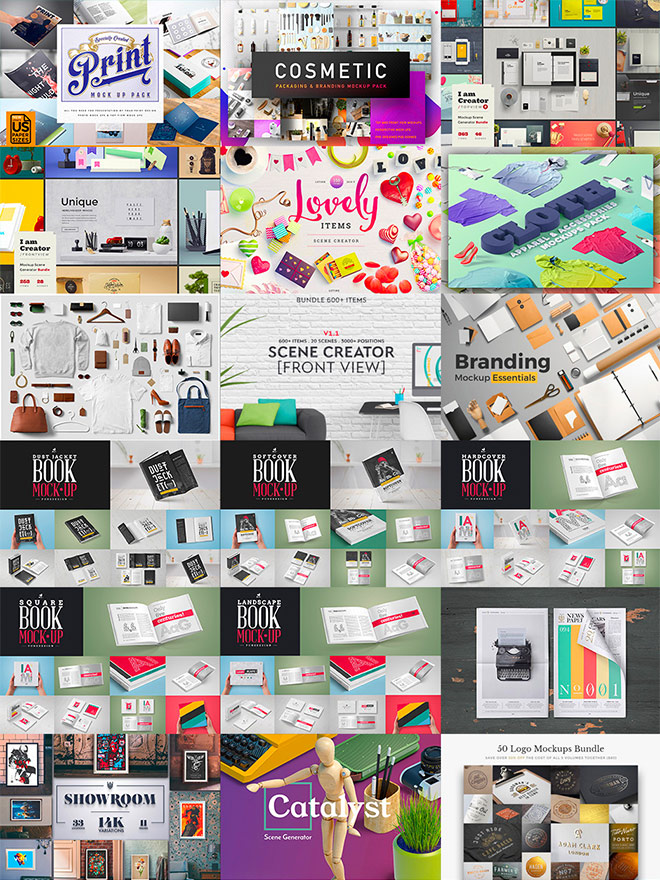 bundle 4 - These Most Popular Design Bundles Are Being Re-run. Grab as Many as You Can!
