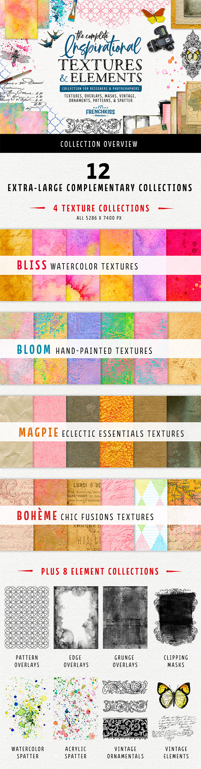 textures elements - Huge Discounts on Exclusive New Products at the Design Cuts Birthday Event