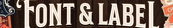 Save 34% off the Nostalgic Font and Label Collection
